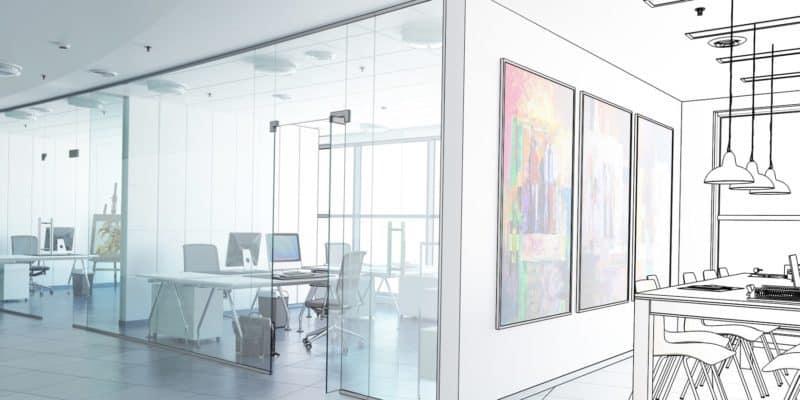 公司辦公室翻修設計方案更新改造