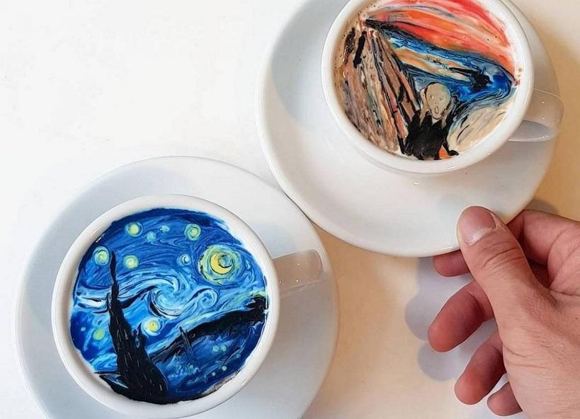 咖啡杯裡的奇幻世界