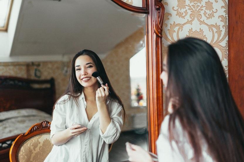 一個長期性做美容的漂亮美女發佈的感歎