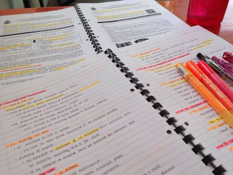 中大學姐手把手帶你歷史筆記和錯題集梳理